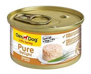 GimDog Pure Delight Pollo - 12 Latas de Snack para perros rico en proteínas (Compra Recurrente)