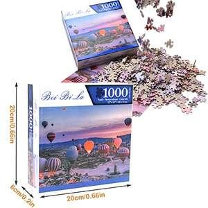 Puzzle 1.000 piezas Globos Aerostáticos sobre Capadocia por sólo 6,99€