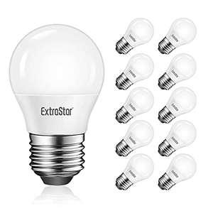 10 Bombillas LED (Halógena, Cálida y Fría)
