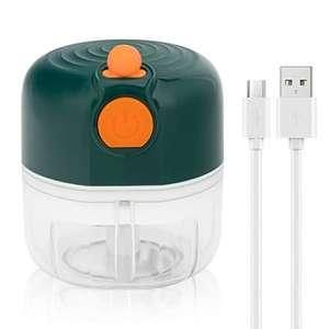 Picadora Trituradora eléctrica de Alimentos.Carga USB