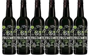 61 Sesenta y Uno Frizzante - 6 Botellas de 750 ml - Total: 4500 ml