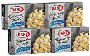Dani - Berberechos 30/40 al natural - Grandes - Pack 4 x 111 gr.