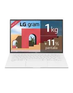 LG Gram 14Z90P- Portátil - i5-1135G7 >1Kg - W10 +18h batería - 512GB M.2 - leer descr.