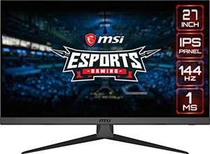 "MSI Optix G272 - Monitor de 27"" FullHD 144Hz por 219€"
