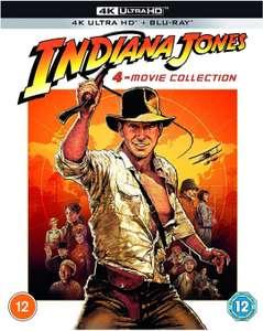 Indiana Jones - 4 películas 4K Ultra HD [2021]