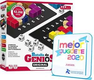 Lúdilo- Batalla de Genios Original, Juego de Mesa, Rompecabezas Madera, Juegos educativos