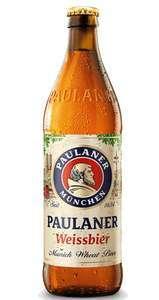 Cerveza de trigo Alemana PAULANER NATURTRÜF 50 cl (AlCampo)