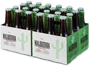 Damm Malquerida - Cerveza Roja Fresca, Caja de 24 Botellas 25cl Cerveza Afrutada