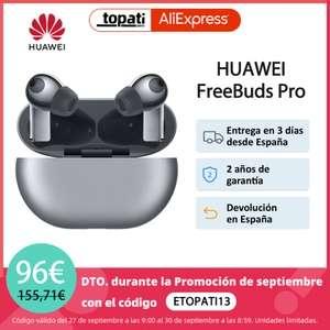 Huawei FreeBuds Pro (Desde España) (A partir del 10/10 a las 10.00)