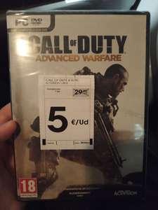 Call Of Duty Advanced Warfare PC Físico (6 Discos y clave de Steam)
