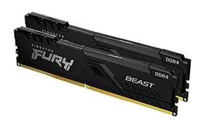 Kingston FURY Beast 64GB (2x32GB) 3200MHz DDR4 CL16
