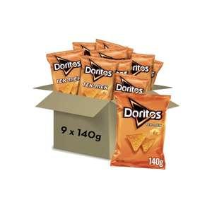 Pack de 9 Bolsas de Doritos 140g | -5€ al Tramitar