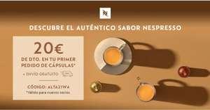 20€ de descuento en Nespresso al comprar 100 capsulas