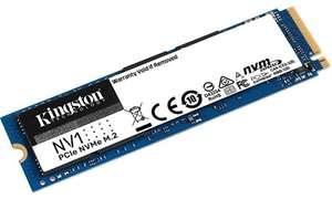 Disco solido interno Kingston NV1 NVMe PCIe SSD 500GB M.2 2280