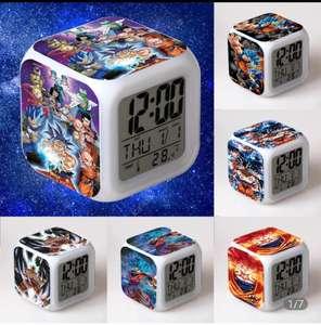 D-dragon-despertador LED brillante de bola de Anime (Diferentes modelos)