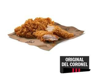 2 tiras de pechuga GRATIS a recoger en KFC
