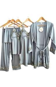 Conjunto de pijamas 5 piezas