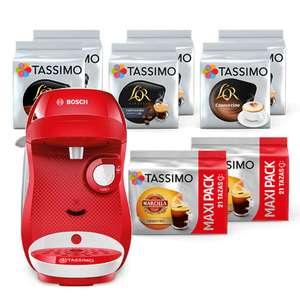 Cafetera Tassimo + 130 cápsulas