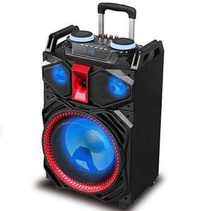 Altavoz Majestic DJB 292 BT USB SD AX - Trolley Bluetooth DJ Party 160W con batería