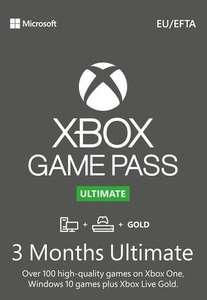3 meses de Game Pass Ultimate XBOX (SOLO desde la APP)
