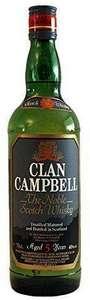 Clan Campbell whisky escocés de mezcla 1 L