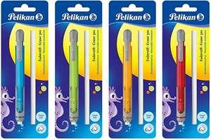 Pelikan - Lápiz de borrar con goma de borrar (4 colores surtidos)