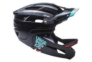 Casco URGE para ciclismo de enduro con mentonera extraíble