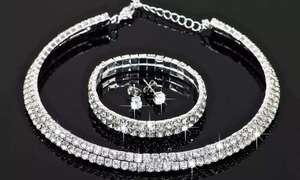 Pulseras, pendientes y colgantes con cristales Swarovski®