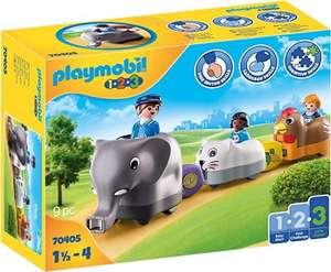 PLAYMOBIL 1.2.3 Mi Tren de Animales, A partir de 18 meses