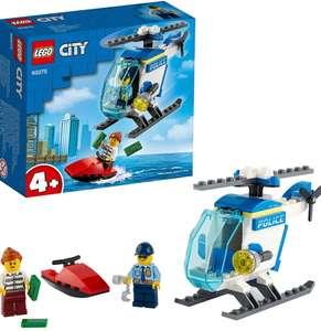 LEGO City Policía Helicóptero de Policía + 2 Figuras