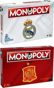 Monopoly Real Madrid y Selección Española - Juego de Mesa
