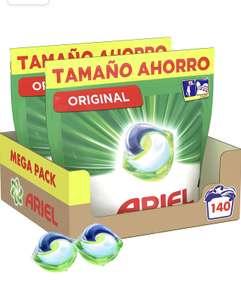 Ariel Pods Detergente Lavadora Cápsulas, 140 Lavados (Pack 2 x 70), Original….(COMPRA RECURRENTE)