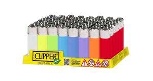 Clipper Pack de 48 Mecheros 0'45€ unidad (Originales y Recargables) ( Envío Desde España)