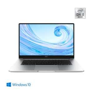 HUAWEI MateBook D 15, Intel® Core™ i3-10110U, 8GB+256GB, Intel® UHD, Windows 10, Mystic Silver
