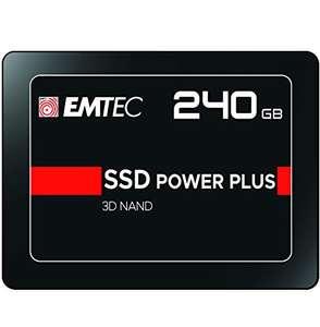 EMTEC Internal SSD X150 240 GB, Negro