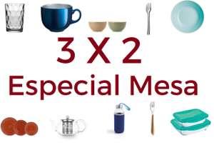 3X2 especial mesa Ohgar (Vajillas, cuberterías, vasos, copas)