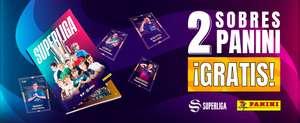 2 sobres gratis para el álbum digital de la Superliga LVP