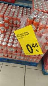 Cerveza Alhambra lata de 50 cc a 0,44.-€