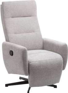 Sillón reclinable BREMDAL gris claro
