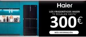 300 euros de descuento por la compra de un frigorífico o congelador Haier