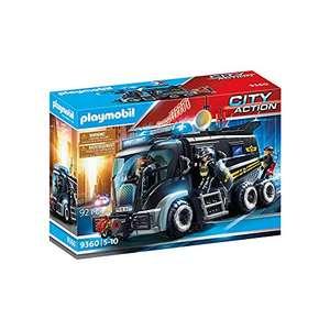 PLAYMOBIL City Action Vehículo con luz LED y módulo de sonido, A partir de 5 años