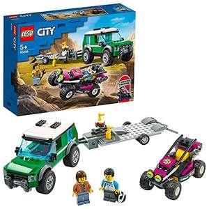 LEGO City Furgoneta de Transporte del Buggy de Carreras,