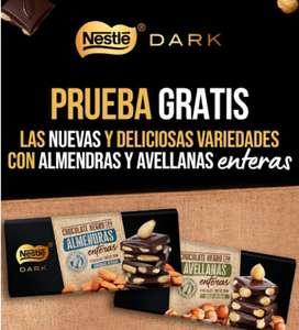 Prueba las nuevas variedades de las tabletas de chocolate Nestlé Dark gratis (reembolso)