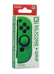 Funda Silicona + Grip Para Joy- Con Verde Derecho - Nintendo Switch
