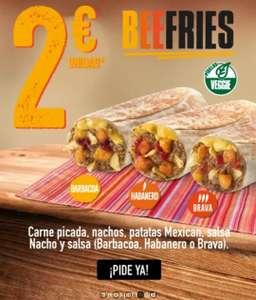 Beefries a 2 euros en Taco Bell