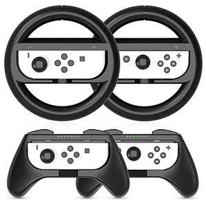 Volantes y Grip Compatible con Nintendo Switch y Switch OLED