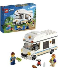 LEGO 60283 City Grandes Vehículos Autocaravana de Vacaciones