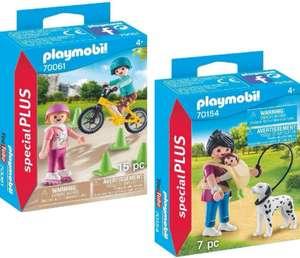 PLAYMOBIL Special Plus Mamá con Bebé Y Perro + Niños Bici Y Patines