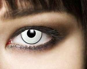 Lentillas de color blanco leo Eyes