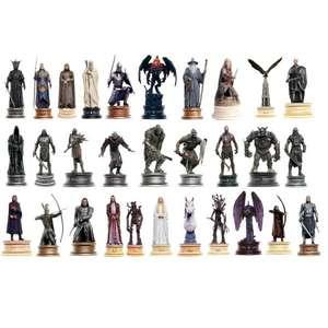 Set de 30 Figuras El Señor de los Anillos - Ed. Coleccionista